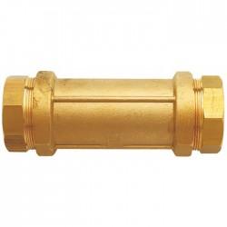 Manchon de réparation en laiton - Serrage extérieur - Raccord Rexuo - 20 mm - HUOT - Raccords à serrage extérieur - BR-587435