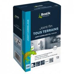 Joint fin carrelage en poudre - Blanc - 1 Kg - BOSTIK - Joint de carrelage - BR-700184