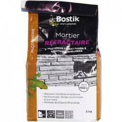 Mortier réfractaire - 5Kg - BOSTIK - Mortier - BR-700170