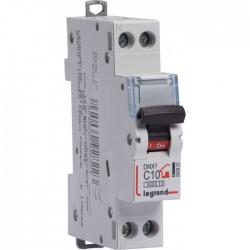 Disjoncteur DNX unipolaire + neutre - Type C - 10 A - LEGRAND - Disjoncteurs - BR-795860