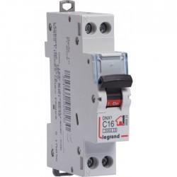 Disjoncteur DNX unipolaire + neutre - Type C - 16 A - LEGRAND - Disjoncteurs - BR-795879