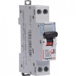 Disjoncteur DNX unipolaire + neutre - Type C - 32 A - LEGRAND - Disjoncteurs - BR-134589