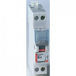 Interrupteur différentiel à bascule - 20 A - Unipolaire 230 V - LEGRAND - Interrupteur différentiel - BR-796379