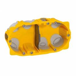 Boîte à encastrer Ecobatibox pour plaque de plâtre - 2 postes - LEGRAND - Boites d'encastrement et dérivation - BR-138132