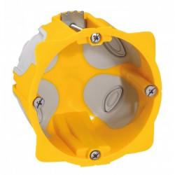 Boîte à encastrer Ecobatibox pour plaque de plâtre - 1 poste - LEGRAND - Boites d'encastrement et dérivation - BR-138131