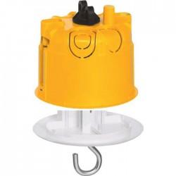 Boîte à encastrer Batibox plaque de plâtre + fiche pour luminaire - ⌀67mm - LEGRAND - Boites d'encastrement et dérivation - ...
