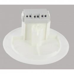Couvercle de remplacement avec prise luminaire Batibox plaque de plâtre - LEGRAND - Boites d'encastrement et dérivation - BR-...