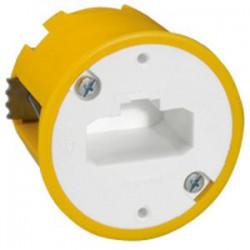 Boîte à encastrer Batibox maçonnerie + fiche pour applique - ⌀54 mm- LEGRAND - Boites d'encastrement et dérivation - BR-080554