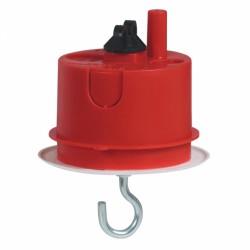 Boîte à encastrer Batibox maçonnerie + fiche pour luminaire - ⌀65 mm - LEGRAND - Boites d'encastrement et dérivation - BR-40...