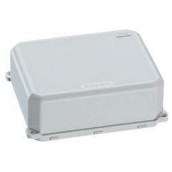 Coffret de dérivation pour borne de raccordement - 76 x 66 x 33 mm - Gris - LEGRAND - Tableau de distribution - BR-620095