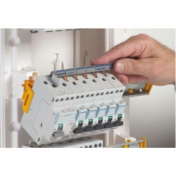 Coffret à équiper - 4 rangées 13 modules - 625 x 250 x 103,5 mm - avec borniers - LEGRAND - Tableau de distribution - BR-102439