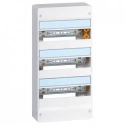 Coffret à équiper - 3 rangées 13 modules - 500 x 250 x 103,5 mm - avec borniers - LEGRAND - Tableau de distribution - BR-102438