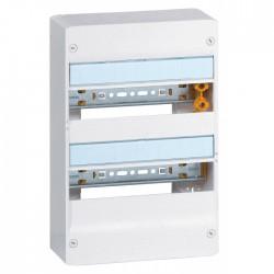Coffret à équiper - 2 rangées 13 modules - 375 x 250 x 103,5 mm - avec borniers - LEGRAND - Tableau de distribution - BR-102437