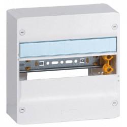 Coffret à équiper - 1 rangée 13 modules - 250 x 250 x 103,5 mm - avec borniers - LEGRAND - Tableau de distribution - BR-102436
