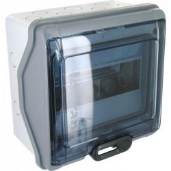 Coffret étanche à équiper - 1 rangée 8 modules - 200 x 200 x 115,6 mm - LEGRAND - Tableau de distribution - BR-113902