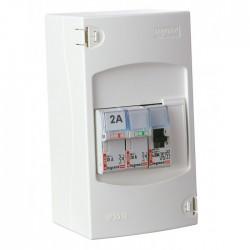 Tableau de commande automatique de chauffe-eau - 2 disjoncteurs + 1 contacteur - LEGRAND - Tableau de distribution - BR-113077