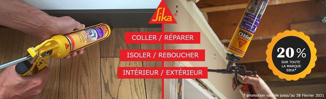 Sika : Colles et mastics sur Abundo.fr